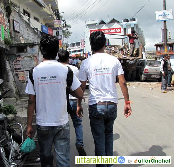 eUttaranchal Team - Visiting Almora City