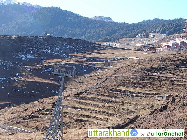 Auli without snow