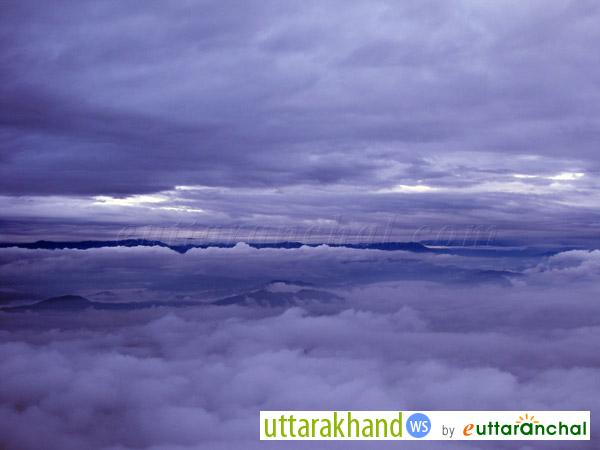 Morning views of sky from Binsar (before sunrise)