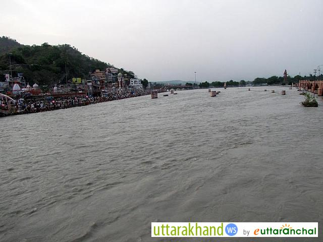 River Ganga (Ganges) in Haridwar