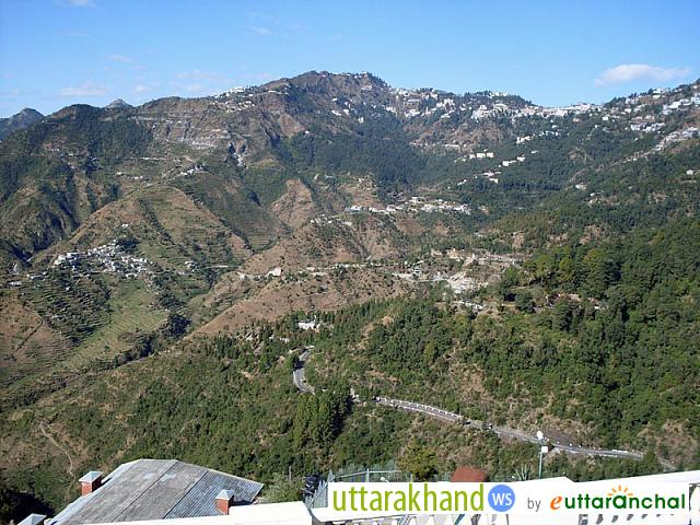 View of Mussoorie Town