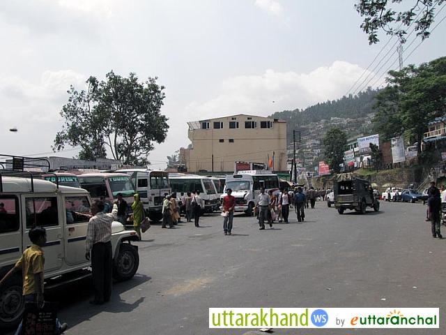Bus Station of Pauri City