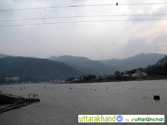 Amazing view of Rishikesh
