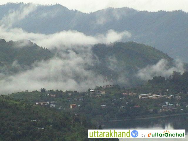 View of Bhimtal