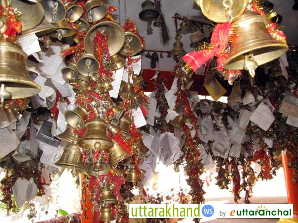 Bells in Chittai Golu Devta Temple