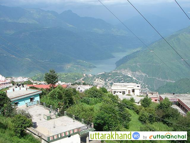 Tehri Dam view from New Tehri