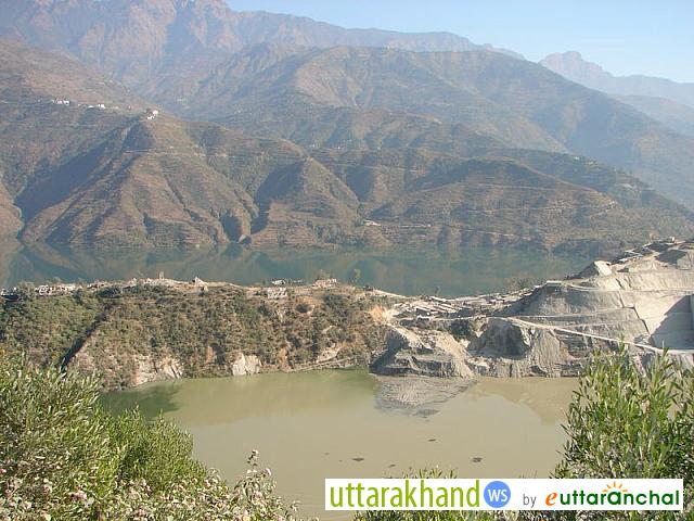 Tehri Dam Reservoir - Dec 05