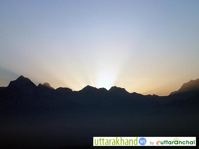 Sunrise at Rudranath