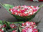Ganga Aarti flower basket