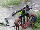 Children Trying theri Luck in River Ganga